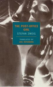 """The Post-Office Girl ebook by Stefan Zweig  Wes Anderson on Stefan Zweig:  """"The Grand Budapest Hotel has elements that were sort of stolen from (Zweig's) books. Two characters in our story are vaguely meant to represent Zweig himself—our """"Author"""" character, played by Tom Wilkinson, and the theoretically fictionalised version of himself, played by Jude Law. But, in fact, M. Gustave, the main character who is played by Ralph Fiennes, is modeled significantly on Zweig as well."""""""
