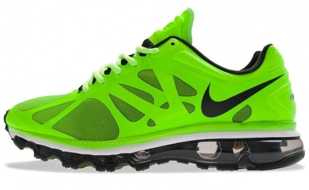 "Two of my favorite things... Nikes & Green!! Nike Air Max+ 2012 ""Electric Green"""