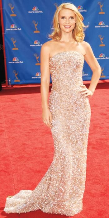 Claire Danes's Best Red Carpet Looks Ever - In Giorgio Armani Privé, 2010 from #InStyle
