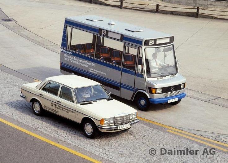 78F52 Mercedes-Benz Wasserstoff-Fahrzeuge