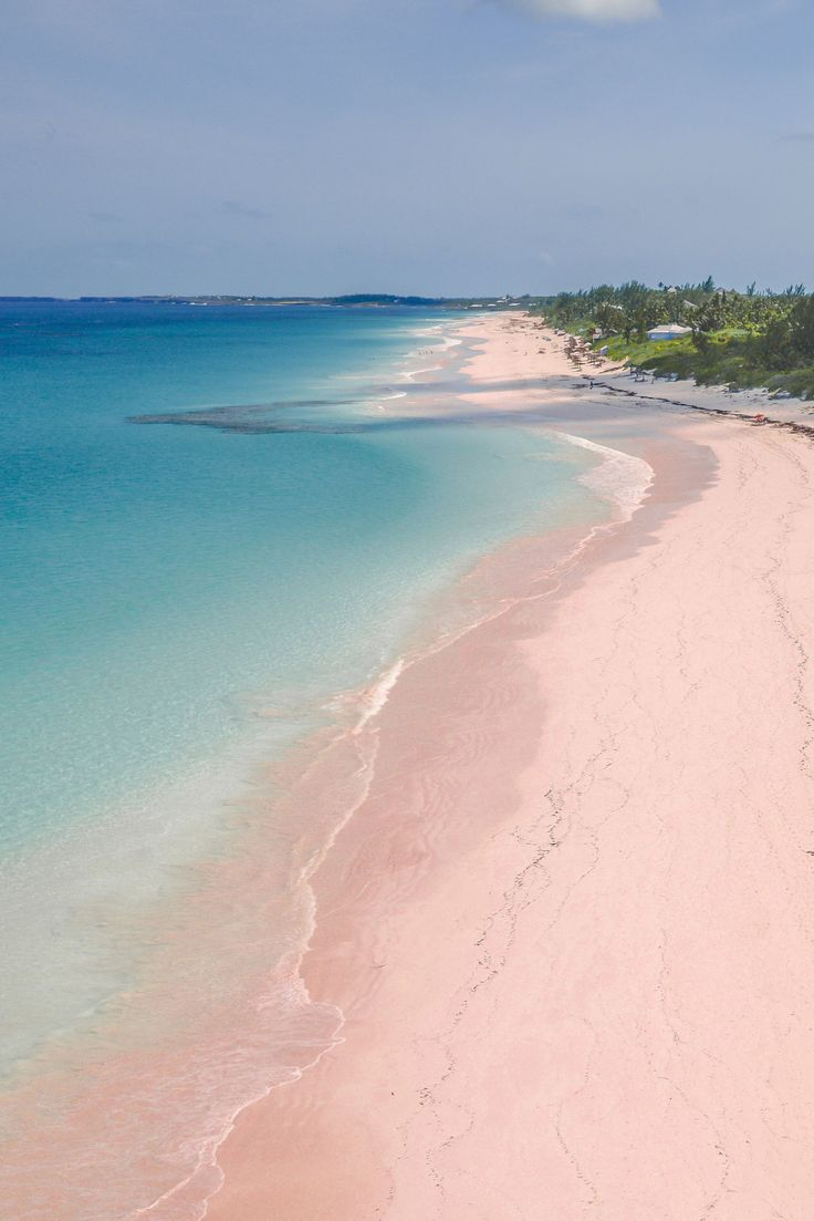 Somewhere on a beach in the Bahamas. /// The 10 Most Popular Summer Vacation Destinations, According to Pinterest