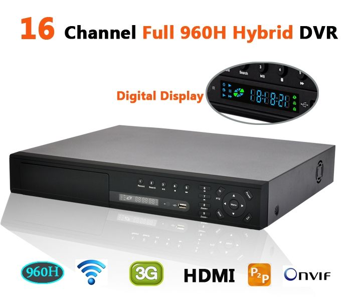 234.01$  Watch now - http://alixaf.worldwells.pw/go.php?t=1801286066 - CCTV recorder 16 channel full 960h resolution ip nvr hybrid stand alone dvr Hi3531 audio alarm hdmi p2p 3g wifi security dvr 234.01$
