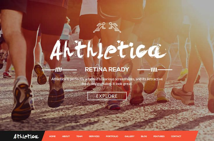 Athletica HTML5 Template