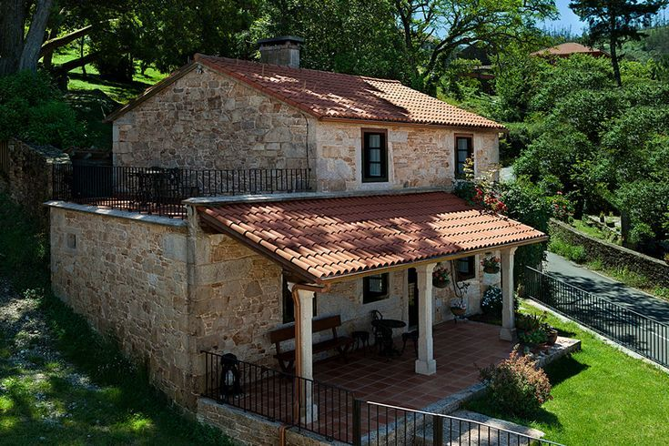 Rural House Galicia Axouxere  Architecture Ranch