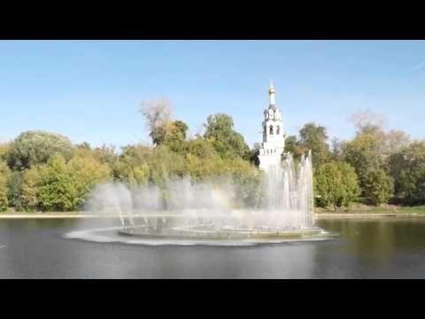 Timelapse Черкизовский пруд и Ильинская церковь