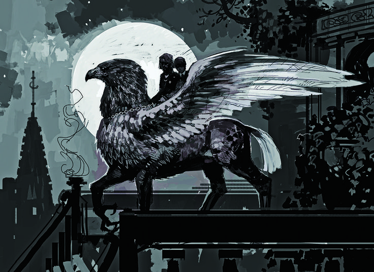 Buckbeak | The Original Harry Potter Creature Concept Art Is Utterly Breathtaking