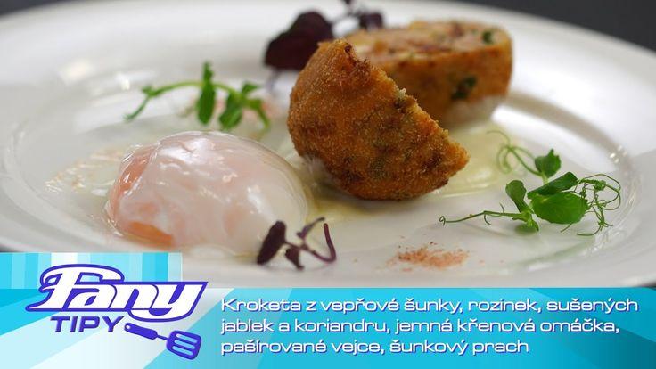 FANY tipy - Martin Bušek: Kroketa z vepřové šunky,  rozinek, sušených ja...