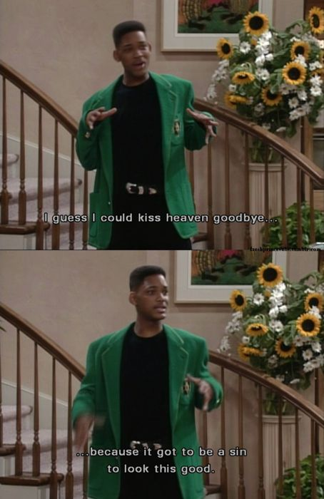 On heaven and hell: | Community Post: 30 Times The Fresh Prince Was The Wittiest Person On '90s TV