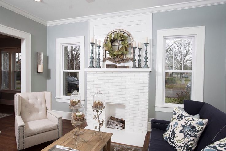 Rooms dreams livingroom bricks fireplaces hgtv fixer fixer upper
