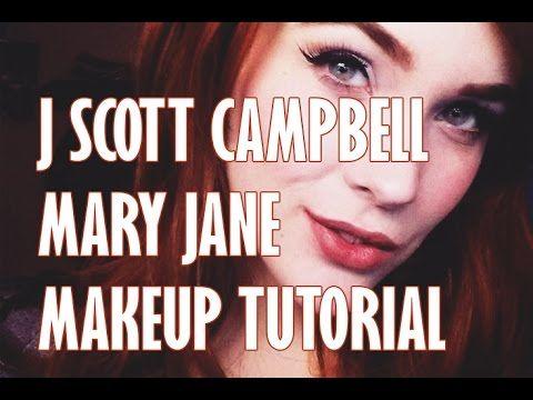 MAKEUP TUTORIAL: J Scott Campbell/Mary Jane Watson