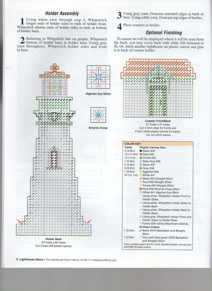 Lighthouse Coaster Set 2/2