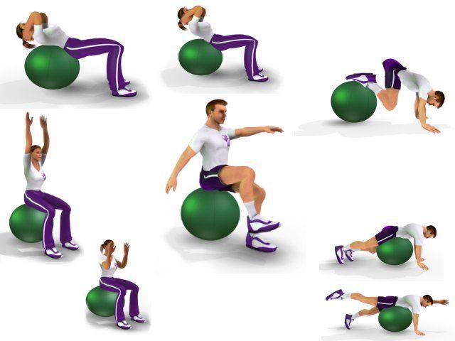 Oefeningen Bosu Ball