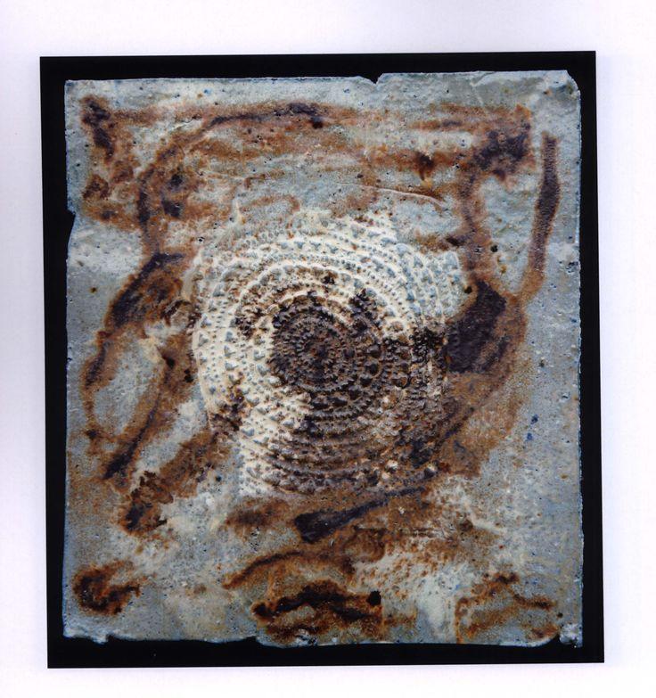 """""""ADN 3"""" de Cecilia Punzo. Fuente: Dossier del Área de Exposiciones del Centro de Cultura Contemporánea. Universidad de Granada. #ExposicionesUGR #CeciliaPunzo #OrillaDelOceanoCosmico"""