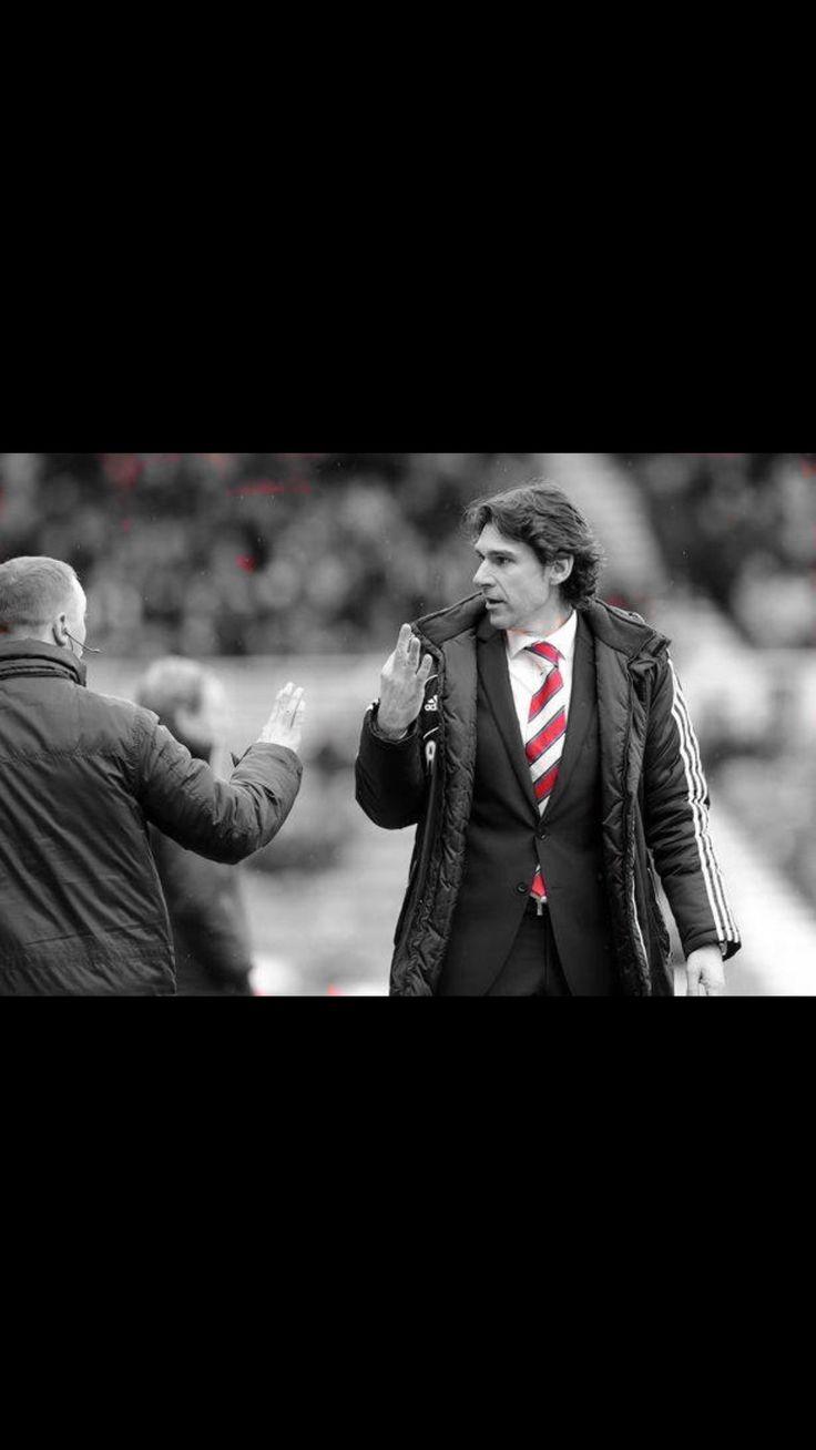 Aitor Karanka Boro manager and hero