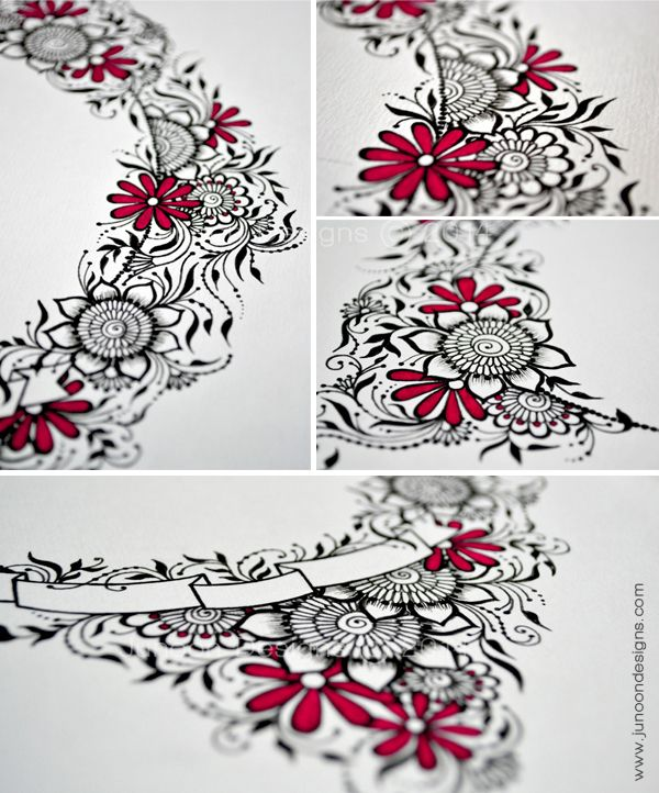 28 best images about wedding zentangles on pinterest