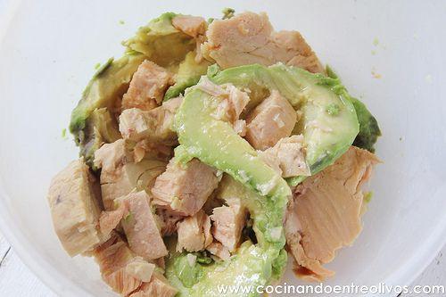 Paté de bonito y aguacate www.cocinandoentreolivos (2)