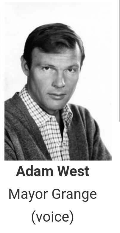It's nice to hear Adam West in The Batman cartoon series. A true Batman fan can never mistake his voice. Long live The Bat!