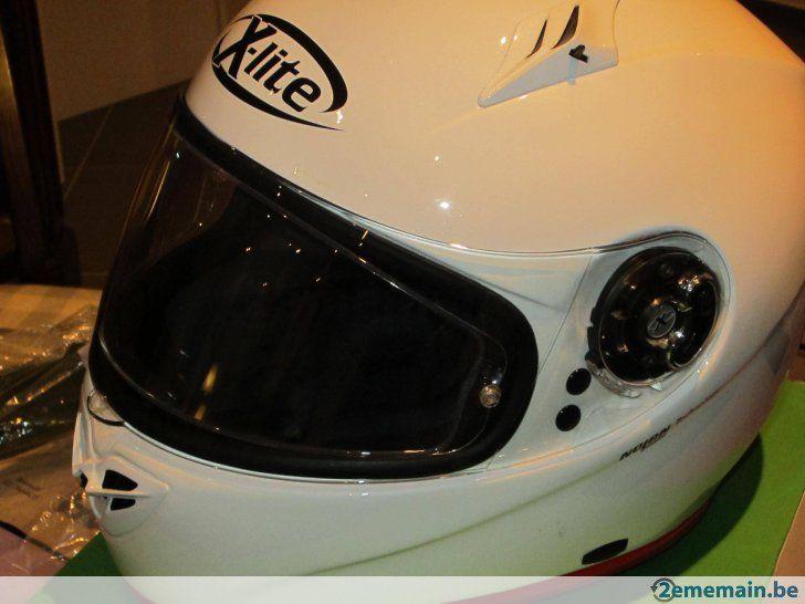 Casque moto Intégral blanc. X-LITE X-602 Sport →  taille M - A vendre