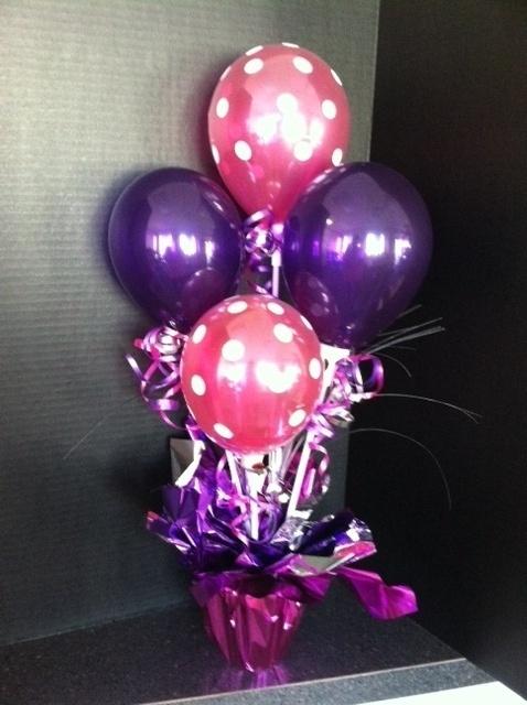 Quot balloon centerpiece party ideas pinterest summer