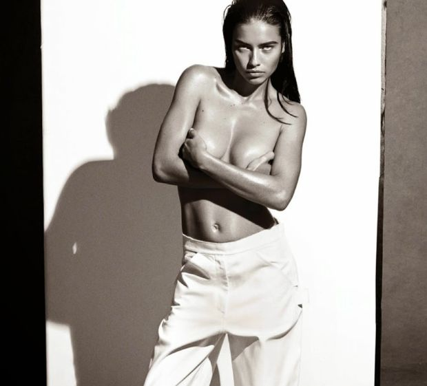 Adriana Lima Looks Drop Dead Gorgeous In New Shoot - Airows