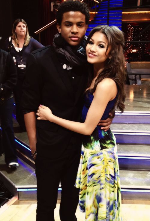 Zendaya and Trevor Jackson Dancing With The Stars