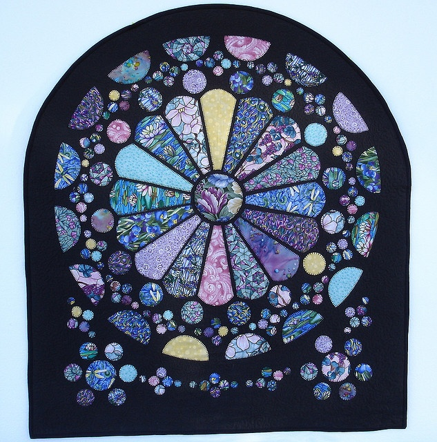Rose Window quilt