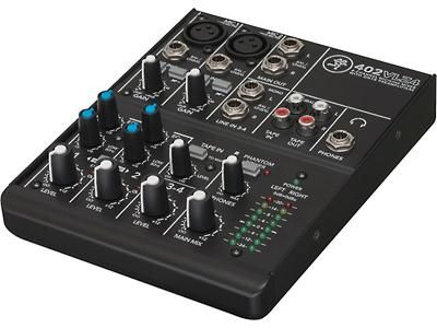 If you just need a simple setup, the Mackie 402-VLZ4 4-channel mixer may be the thing. #Mackie #Mixer