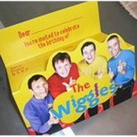Invitations Wiggles Original Wiggles Pkt8 AWIGINV