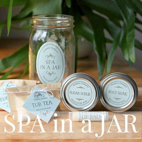 SPA in a JAR: la SPA in barattolo. Un regalo originale e apprezzatissimo. Idee e tutorial.