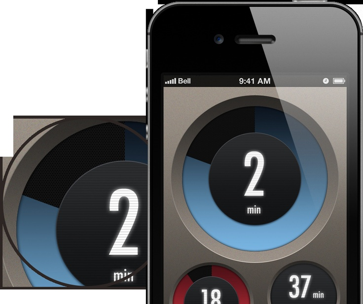 Timetronic iPhone App Concept