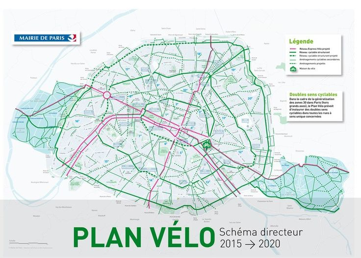 Paris Is Building Highways for Bikes to Help Reduce Pollution - CityLab