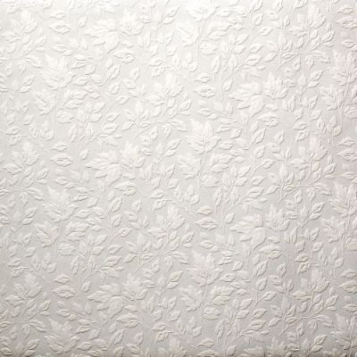 Textured Wallpaper Painted With Warm Silver Metallic Paint Then