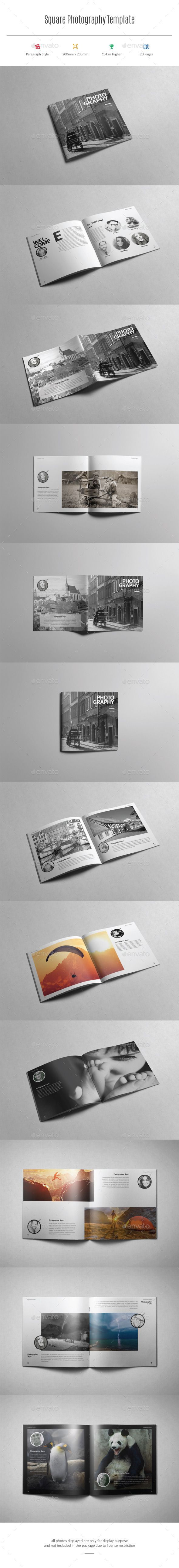 Square Photography Template #design #printdesign Download: http://graphicriver.net/item/square-photography-template/12138991?ref=ksioks