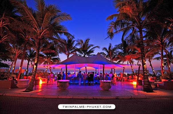 Even on the touristy Phuket there are awesome places where you can hang around in style...TwinPalms Phuket for example...