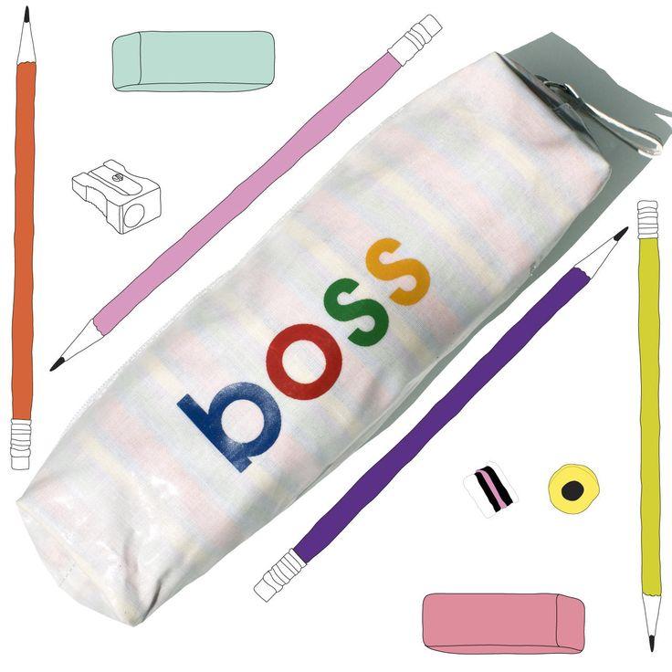 Fun Barrel Boss Pencil Case by TwoLittleBoysLtd on Etsy