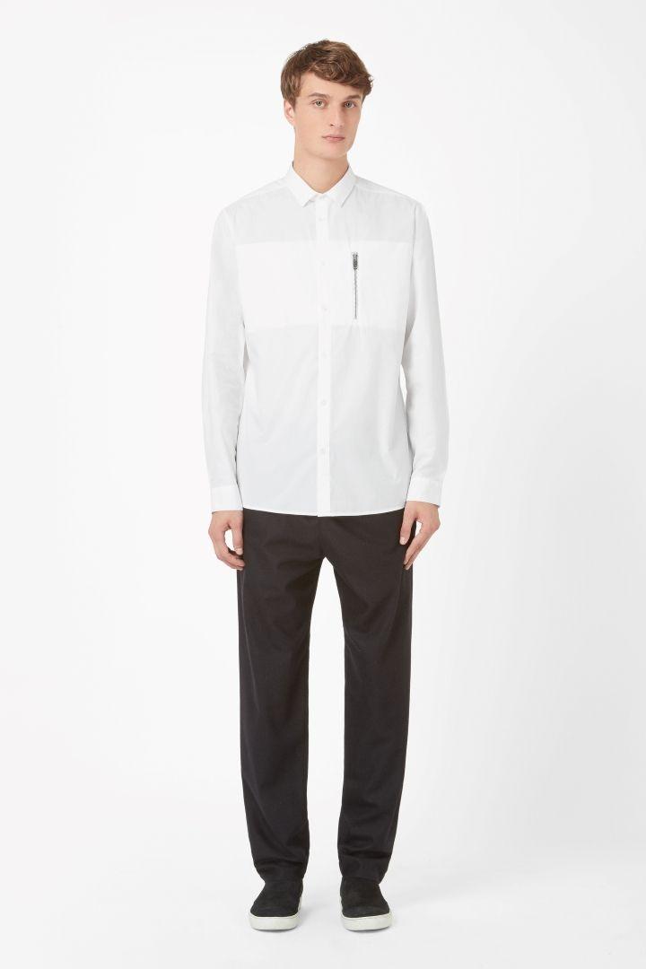 COS   Zip pocket shirt
