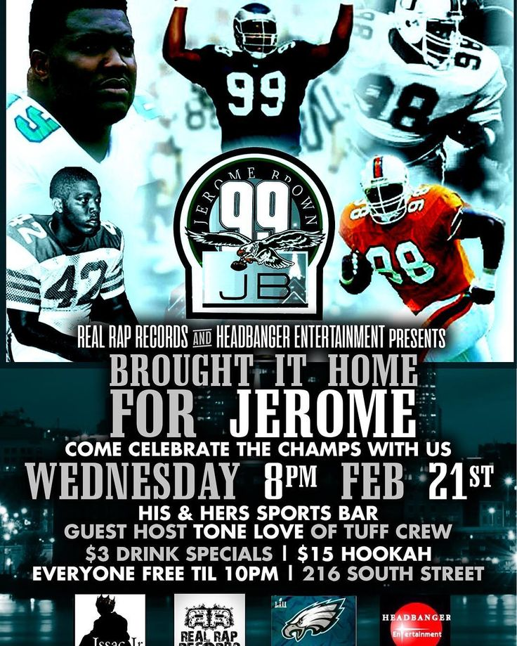 Defensive Tackle #jeromebrown passed away tragically June of #1992  the @philadelphiaeagles were destined for the road leading up to Super Bowl XXVII to bring it home for Jerome in 1992 the  #eagles went on to defeat the Saints in wildcard game then went on to Play Dallas in Division round & lost as years went on the team had ups & down becoming #nfldivisionchamps several times but no #lombarditrophy came to #philadelphia until this new era of #2018 #philadelphiaeagles team coached by Doug…