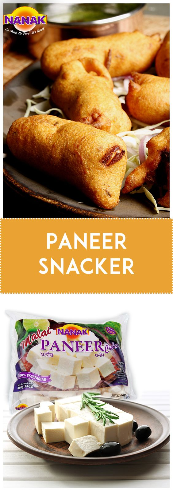 Snack on some delicious Paneer Snackers and pump up dull days. Make some today! #Recipe #Paneer  Ingredients: Paneer (cottage cheese)- 150 gms Olive oil- 1 tsp Salt to taste Pizza sauce as required Salted biscuits- 16 Yellow bell peppers, cut into thin strips(for garnish) Fresh mint sprigs (for garnish)