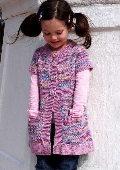 Вязанная кофта для девочки 3 лет вяжем сами