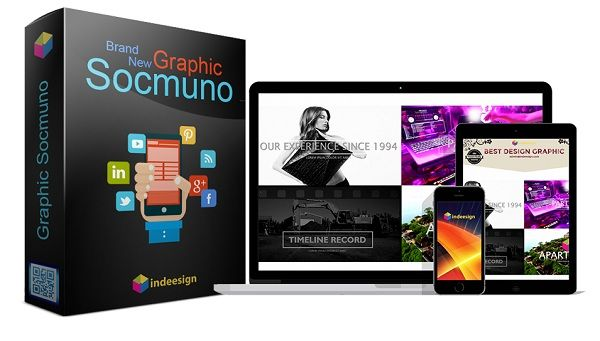 Graphic Scmuno is a brand new done for you 2017 design and video templates, that enable you to create your own social media marketing cover, video marketing and promotional banners in minutes!!