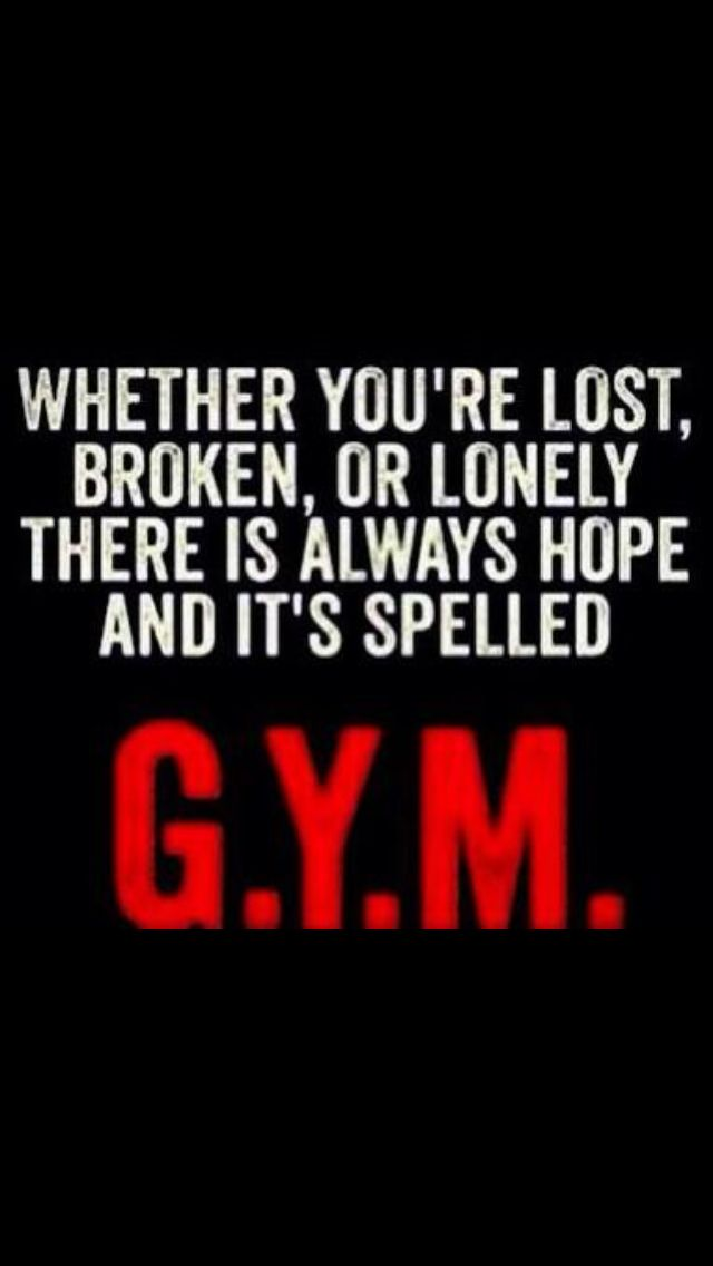 Gym quote truth fitness motivation pinterest