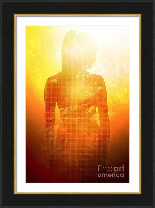 Enlightenment Framed Print featuring the photograph Love Is The Truth. Light Is The Way by Jorgo Photography - Wall Art Gallery