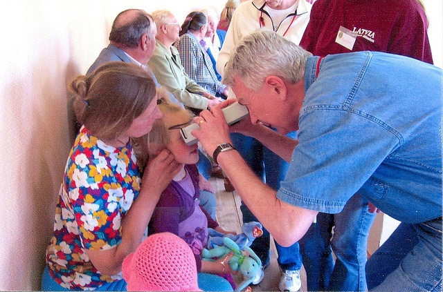 District 11C2, Michigan, USA- Lions traveled to Latvia on a medical mission to distribute eyeglasses.