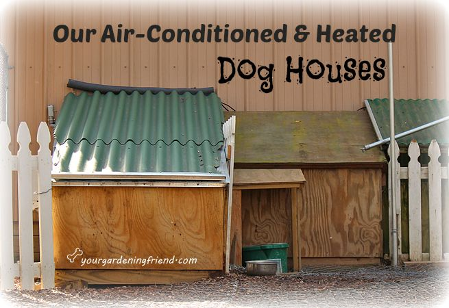 Our Air Conditioned Amp Heated Dog Houses