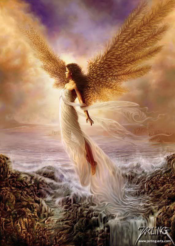 Angel ascending