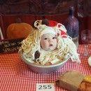 Most Adorable Homemade Bowl of Spaghetti Ever! homemade kids costume website