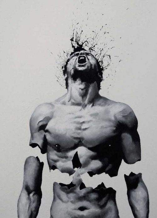 Por vezes a nossa força tem que ser usada mesmo até ao limite de, por vezes, nos sentirmos a ser despedaçados e nos quebrarmos em mil pedaçinhos... Por vezes é necessário para voltarmo-nos a unir naquele ser que faz de nós o que somos: na nossa mais pura e real essência. (erica q) Imagem: Paulo Trollo