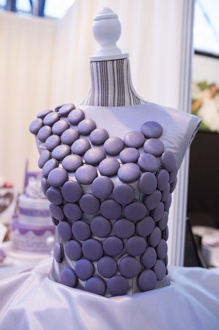 Lavender macarons dress - Boheme delices francaises