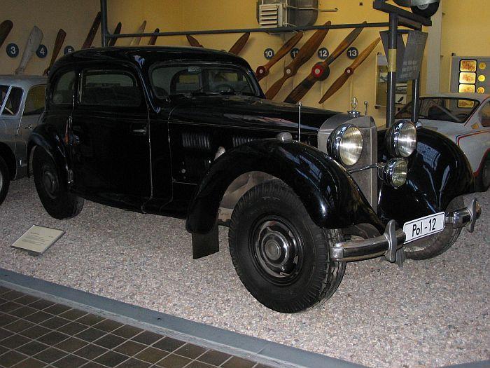 MB K.H.Frank. National Technical Museum. Prague, Czech Republic.