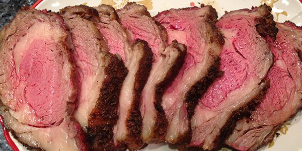Smoked Prime Rib-The Holidays are here and everyone loves a good prime rib. The smell of garlic and rosemary , the crisp outside and the tender medium well center. Green Mountain Grills …